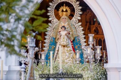 Salida Procesional de la Virgen del Águila 2017 (2)