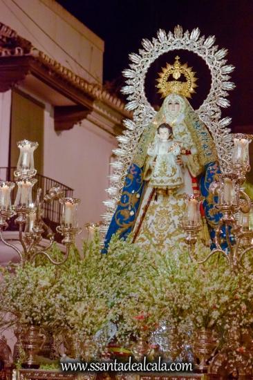 Salida Procesional de la Virgen del Águila 2017 (23)