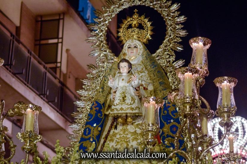 Salida Procesional de la Virgen del Águila 2017 (24)