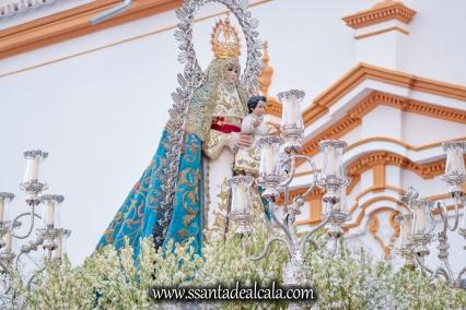 Salida Procesional de la Virgen del Águila 2017 (8)