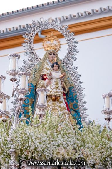 Salida Procesional de la Virgen del Águila 2017 (9)