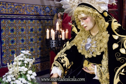 Solemne Tríduo y Besamanos a la Virgen de los Dolores 2017 (5)