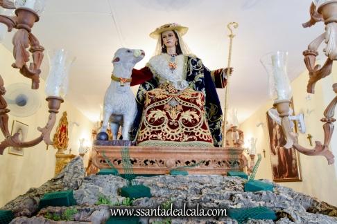 Divina Pastora en su paso procesional 2017 (1)