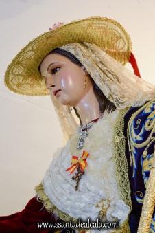 Divina Pastora en su paso procesional 2017 (10)