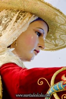 Divina Pastora en su paso procesional 2017 (12)