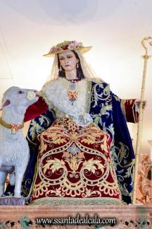 Divina Pastora en su paso procesional 2017 (2)