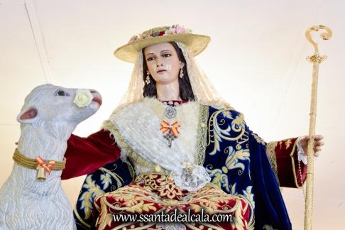 Divina Pastora en su paso procesional 2017 (3)
