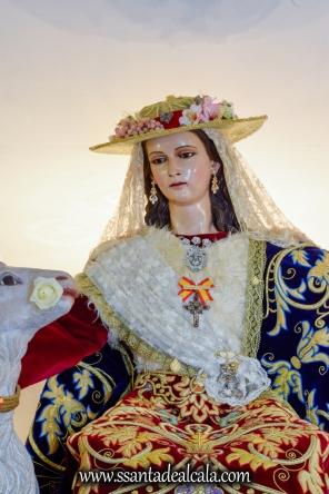 Divina Pastora en su paso procesional 2017 (4)