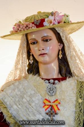 Divina Pastora en su paso procesional 2017 (5)