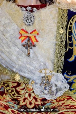 Divina Pastora en su paso procesional 2017 (7)