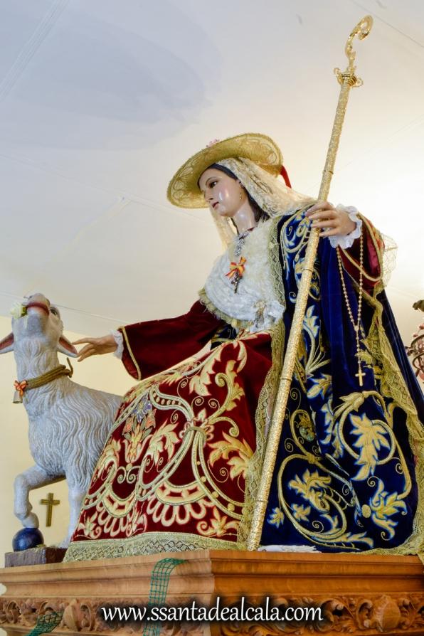 Divina Pastora en su paso procesional 2017 (9)
