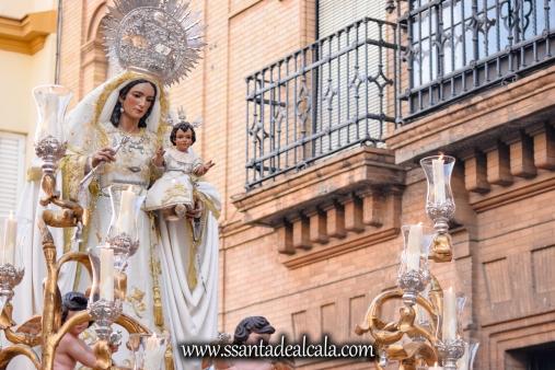 Salida Procesional de la Virgen del Rosario 2017 (11)