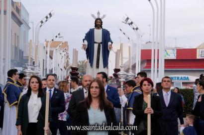 Traslado de regreso del Cristo de la Paz 2018 (10)