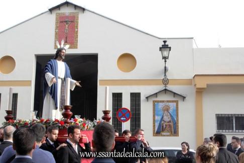 Traslado de regreso del Cristo de la Paz 2018 (2)