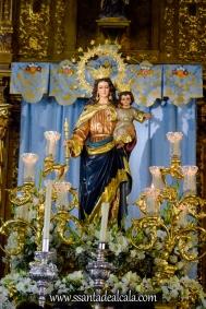 María Auxiliadora en su paso procesional 2018 (1)