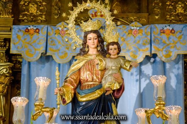 María Auxiliadora en su paso procesional 2018 (10)