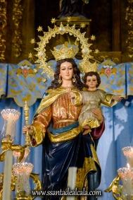 María Auxiliadora en su paso procesional 2018 (3)