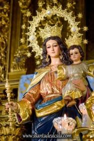 María Auxiliadora en su paso procesional 2018 (5)