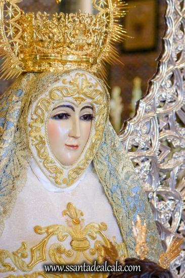 Besamanos de la Virgen del Águila Coronada 2018 (14)