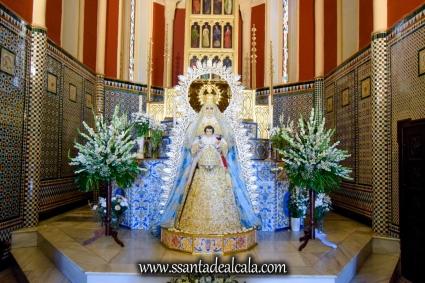 Besamanos de la Virgen del Águila Coronada 2018 (2)