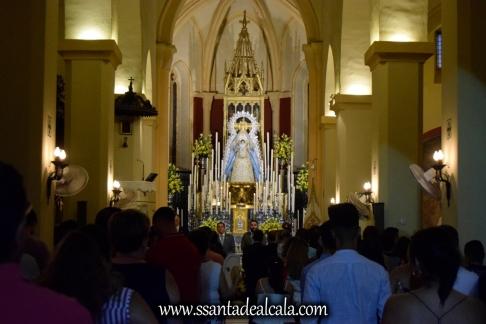 Entrega del llamador del paso de la Virgen del Águila 2018 (1)