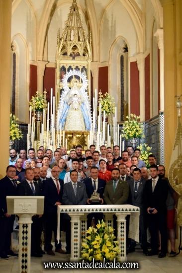 Entrega del llamador del paso de la Virgen del Águila 2018 (8)